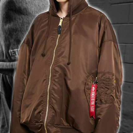 VETEMENTS X Alpha Industries OVERSIZED BOMBER JACKET 2017