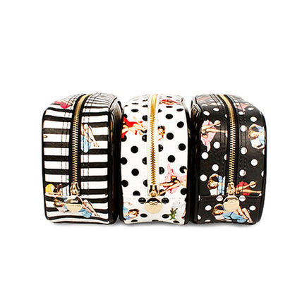 ★Marianne kate★Pin Up Girl Party Pouch(stripe)