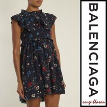 【国内発送】Balenciaga Tシャツ Baby Doll Plastron dress