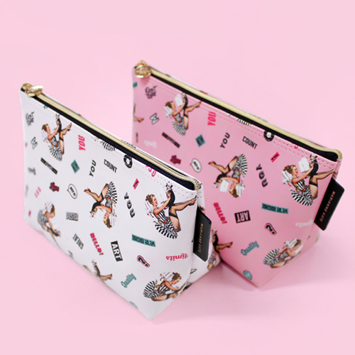★Marianne kate★韓国直送料込★Lucky Dog Stand Pouch(iv)