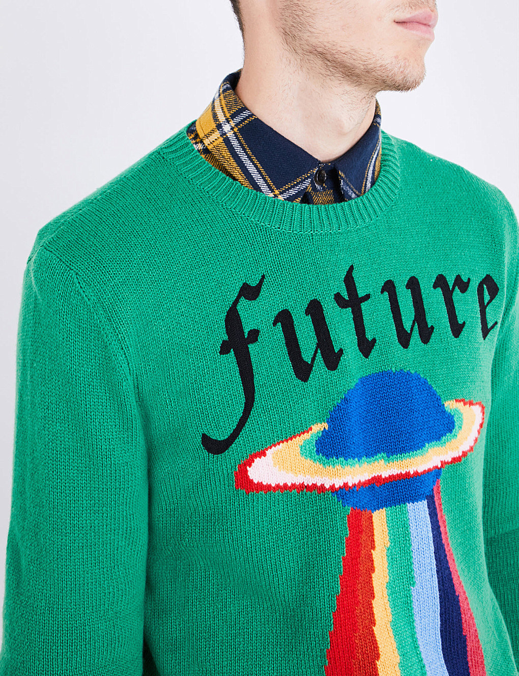 【国内発送】GUCCI セーター Future UFO wool jumper