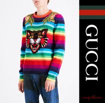 【国内発送】GUCCI セーター Angry Cat wool jumper