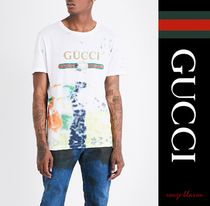【国内発送】GUCCI Tシャツ Tie-dye cotton-jersey T-shirt