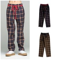 日本未入荷ROMANTIC CROWNのTwine check pants 全2色