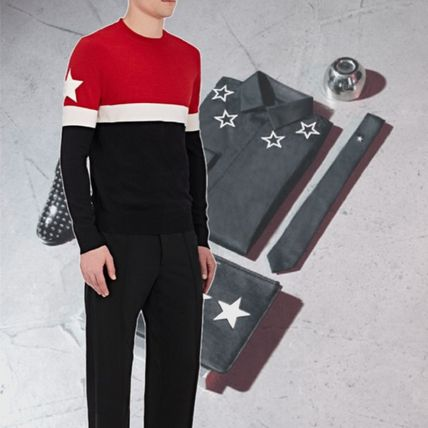 【GIVENCHY】Colorblock Wool-Blend Sweater