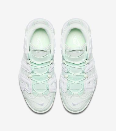 Nike スニーカー 女性限定色 Nike Womens Air More Uptempo MINT(4)