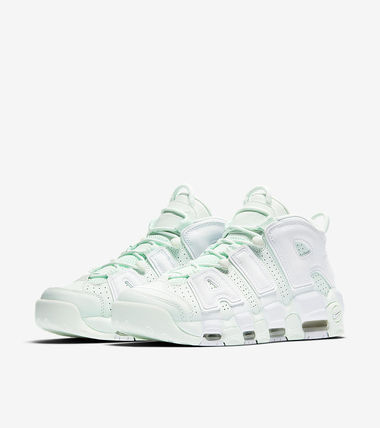 Nike スニーカー 女性限定色 Nike Womens Air More Uptempo MINT(5)