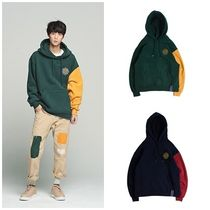 日本未入荷ROMANTIC CROWNのColor Block Wide Hoodie 全2色
