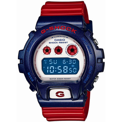 CASIO カシオ DW6900AC-2 Blue and Red Series メンズ 腕時計