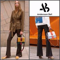 【ANDERSSON BELL】正規品★JAMIE SIDE SLIT パンツ 2色/追跡付