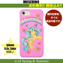 18SS,関税込★Moschino My Little Pony iphone 6.6s.7plus case