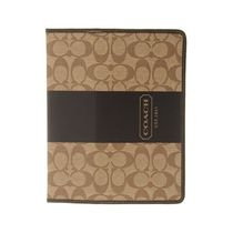 【COACH】iPad Case Brown/Beige