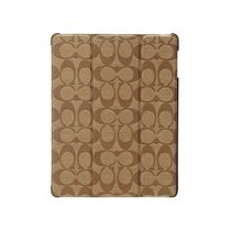 【COACH】iPad Case Brown