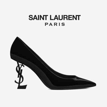 ∞∞ Saint Laurent ∞∞ Opyum YSLロゴパンプス☆85mm