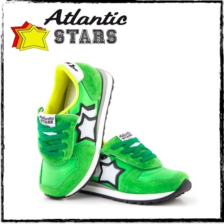 送料込☆Atlantic STARS☆AQUARIUS VERDE キッズスニーカー