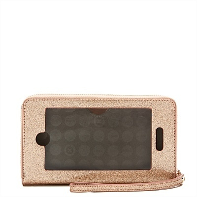 日本未入荷![MIMCO] ROSE GOLD iPhoneケース付き(PLUS)財布