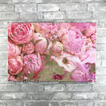 Oliver Gal 小さい 38x25cm Roses in Pink キャンバスアート