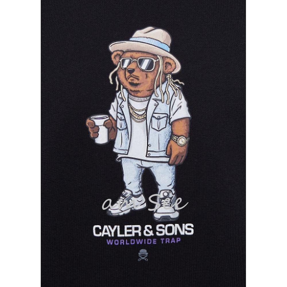 【2017SS】CAYLER&SONS WICKED ベアプリント スウェット