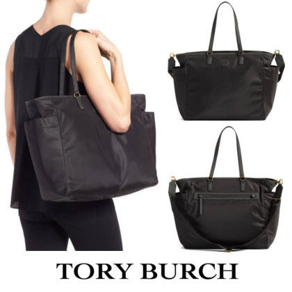 Tory Burch マザーズバッグ 最新!Tory Burch Scout Baby Bag Tote/シート付♪
