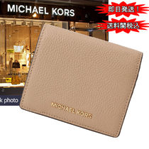 国内発送!Michael Kors 多目的CARRYALL CARD CASE  レザー