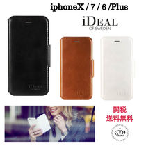 手帳型 3色【iDEAL】LONDON WALLET  iphoneX /7/6/Plus ケース
