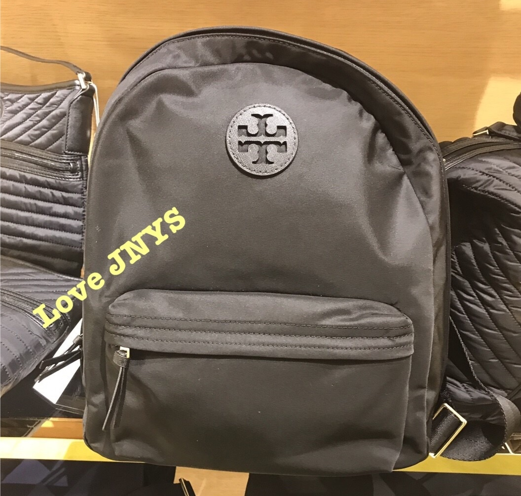 ☆TORY BURCH☆ELLA  BACKPACK☆バックパック☆黒