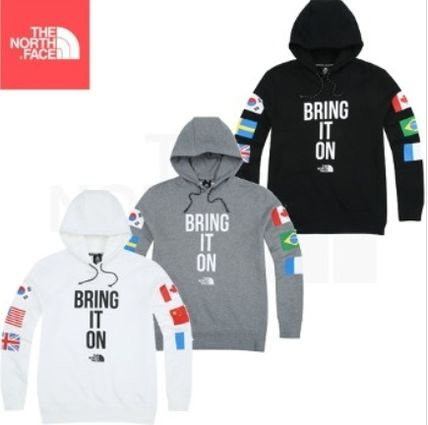 THE NORTH FACE  ★M'S FLAG HOODIE3色 レタリングパーカー