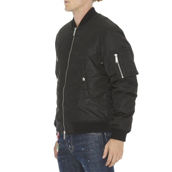 *DSQUARED2*AVIATOR PUFFED BOMBER JACKET 【送料/関税込】