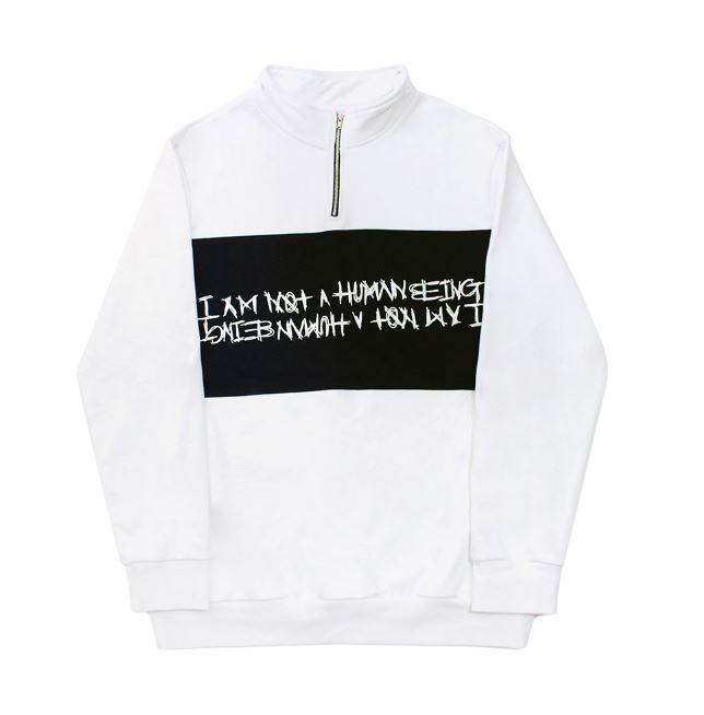 I AM NOT A HUMAN BEINGのBasic Logo Pullover Sweat Shirt