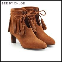 See by Chloe(シーバイクロエ)★Irina Suede Ankle Boots★