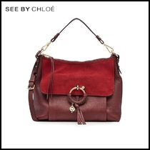 See by Chloe(シーバイクロエ)★Leather Tote with Suede★