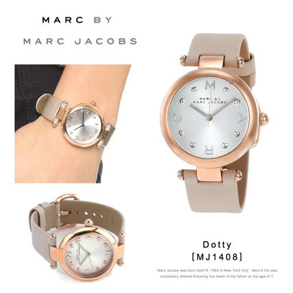 Marc by MarcJacobs-Dotty 腕時計 MJ1408 ピンクゴールド