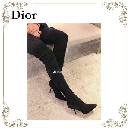 【17AW】大人気★Dior★Suede Boots
