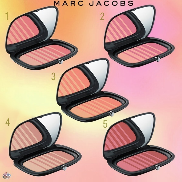 Marc Jacobs☆ Air Blush パウダーブラッシュデュオパレット