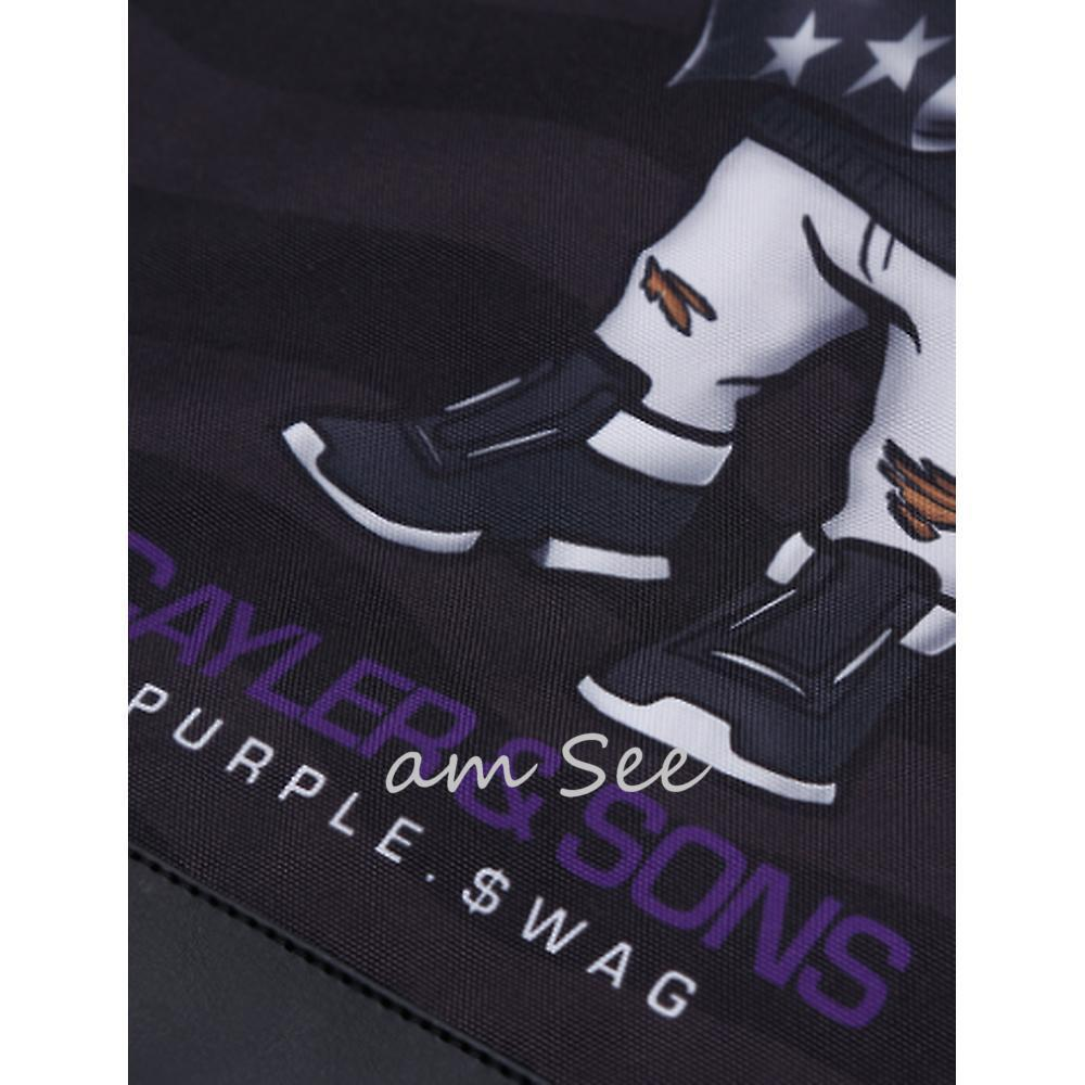 【2017-18AW】CAYLER&SONS WL PURPLE SWAG ベアジムバッグ