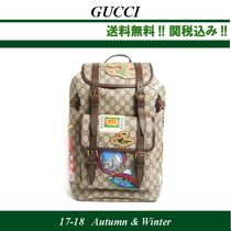 2017AW,関税込★GUCCI(グッチ)Backpack 'St GG'