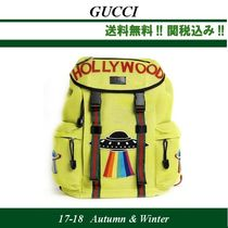 2017AW,関税込★GUCCI(グッチ)Mesh techpack 'UFO' back pack