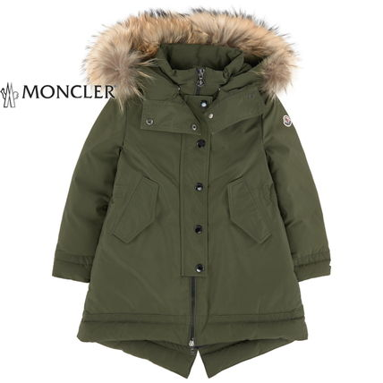 "MONCLER キッズアウター 17AW☆MONCLER""YOLANDE""ファーダウン 大人もOK*12/14A【関税込】(6)"
