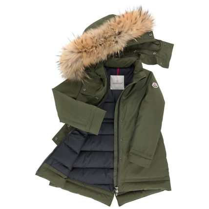 "MONCLER キッズアウター 17AW☆MONCLER""YOLANDE""ファーダウン 大人もOK*12/14A【関税込】(7)"