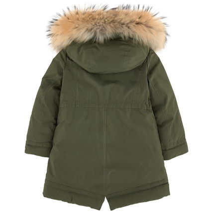 "MONCLER キッズアウター 17AW☆MONCLER""YOLANDE""ファーダウン 大人もOK*12/14A【関税込】(8)"