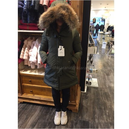 "MONCLER キッズアウター 17AW☆MONCLER""YOLANDE""ファーダウン 大人もOK*12/14A【関税込】"