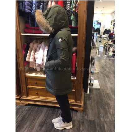 "MONCLER キッズアウター 17AW☆MONCLER""YOLANDE""ファーダウン 大人もOK*12/14A【関税込】(2)"