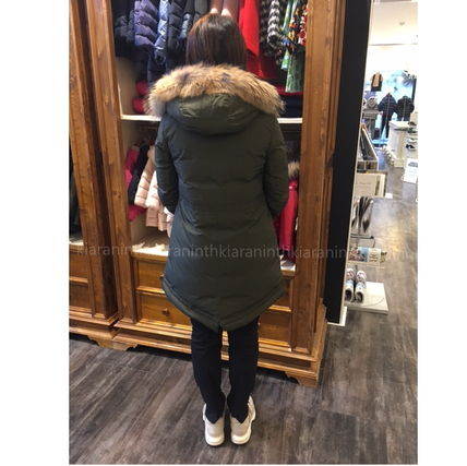 "MONCLER キッズアウター 17AW☆MONCLER""YOLANDE""ファーダウン 大人もOK*12/14A【関税込】(4)"