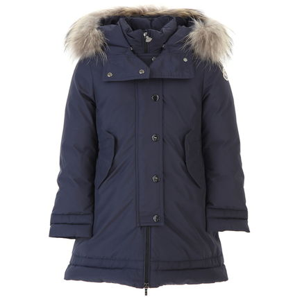 "MONCLER キッズアウター 17AW☆MONCLER""YOLANDE""ファーダウン 大人もOK*12/14A【関税込】(12)"