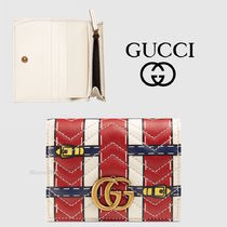 ★Gucci ★Trompe l'oeil ★コンパクト!2つ折りウォレット★