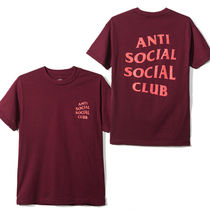 国内即発 ANTI SOCIAL SOCIAL CLUB  LOGO Tシャツ RED