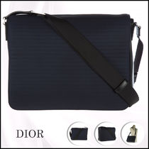 ★送料/関税無料★Christian Dior Mens nylon cross-body
