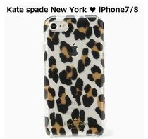 Kate spade new york ♥ Leopard Clear iPhone7 /8Case