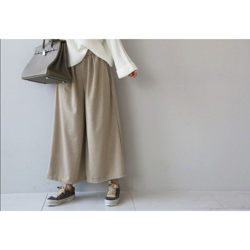 【国内発送・関税込】 NANING9 NEW! Kevan wide bending pants