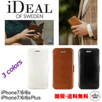 手帳型 3色【iDEAL】SLIM MAGNET WALLET  iphone7/6/Plus ケース